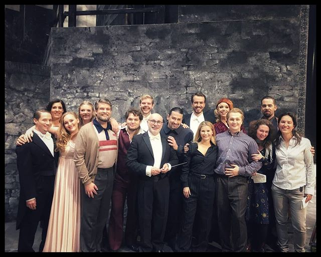 Rigoletto in Stuttgart is on fire again! What a joy to be back on stage in this beautiful production with these lovely colleagues and our amazing conductor #giulianocarella....all is great great great;)! #operstuttgart #verdi #bonnieandclyde #jossiwieler #sergiomorabito
